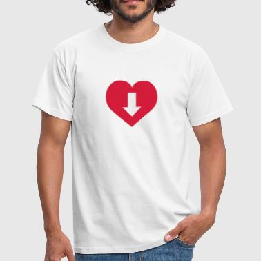 Love | Penis | Dick | Pussy | Muschi - Men's T-Shirt