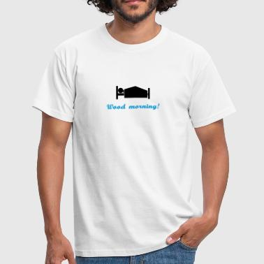 wood morning - Herre-T-shirt
