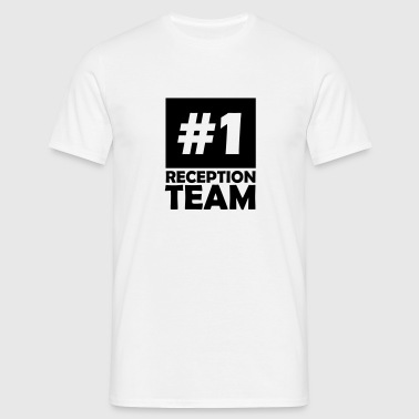 number one reception team - Men's T-Shirt