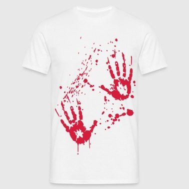 Blut - Serial Killer - Mannen T-shirt