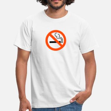 Smoking No Smoking - T-skjorte for menn