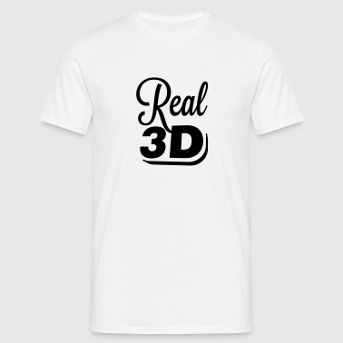 Real 3D - T-shirt Homme