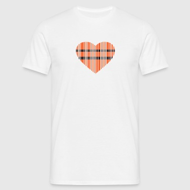 code-barres amour 2c - T-shirt Homme