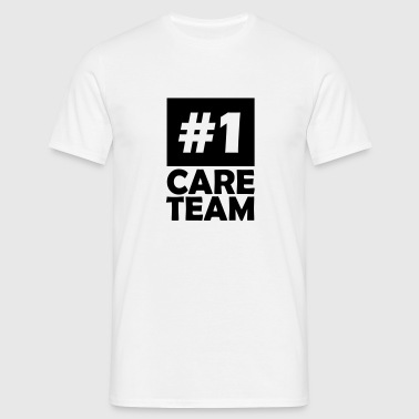 number one care team - Men's T-Shirt