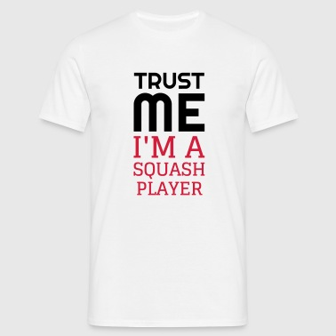 Squash Sport Game Match Champion Victory - Mannen T-shirt