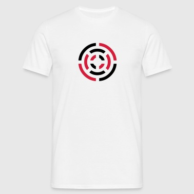 circle sign - Mannen T-shirt