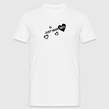 MARRIAGE, MARRIED, MARRIED, honeymoons, LOVE - T-shirt Homme
