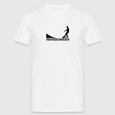 Waveboard,wave,boards,wakeboard,skateboard - Männer T-Shirt