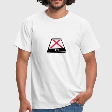 No Smartphone - Men's T-Shirt