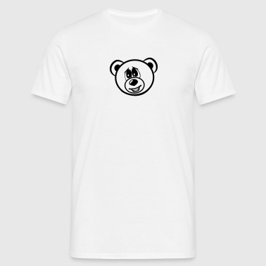 Bear embarrassed sweet - Men's T-Shirt