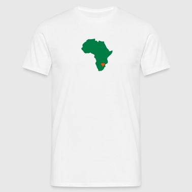 Zimbabwe, Heart Of Africa - Men's T-Shirt