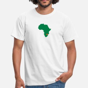 Zimbabwe Africa Zimbabwe, Heart Of Africa - Men's T-Shirt