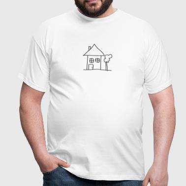 house - T-shirt Homme