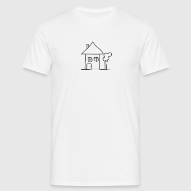 house - Mannen T-shirt