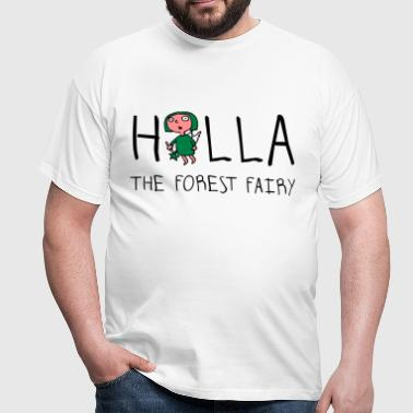 holla_the_forest_fairy_052012b_3c - Männer T-Shirt