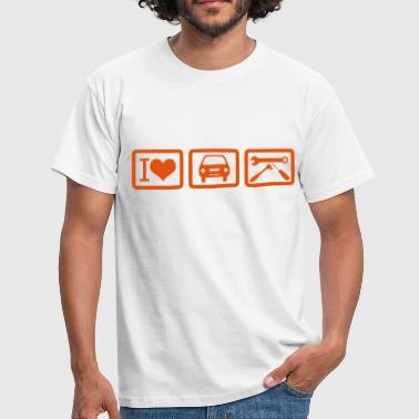 i_love_auto_repair - Männer T-Shirt
