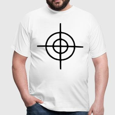 Crosshairs - Gun - Men's T-Shirt