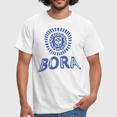 blue tattoo bora bora - T-shirt Homme