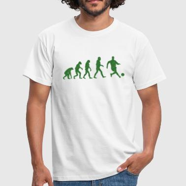 Football Evolution logo - Männer T-Shirt