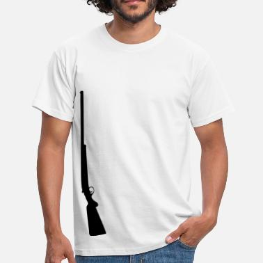 Sniper Rifle Sniper sniper rifle weapon machine gun - Men's T-Shirt