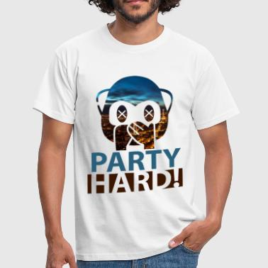 Party Hard! - Männer T-Shirt