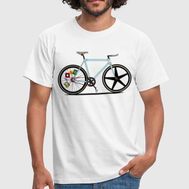 Fixie Bike - Men's T-Shirt