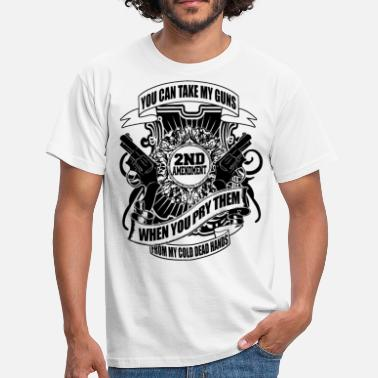 2nd Amendment GUNS - Männer T-Shirt