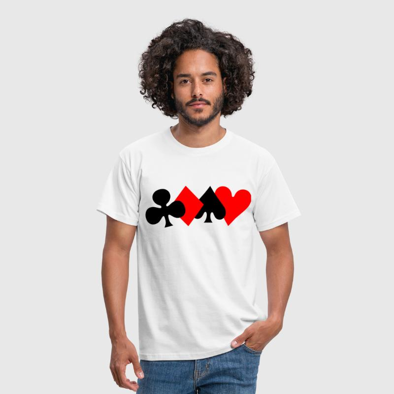 Poker Design - Men's T-Shirt