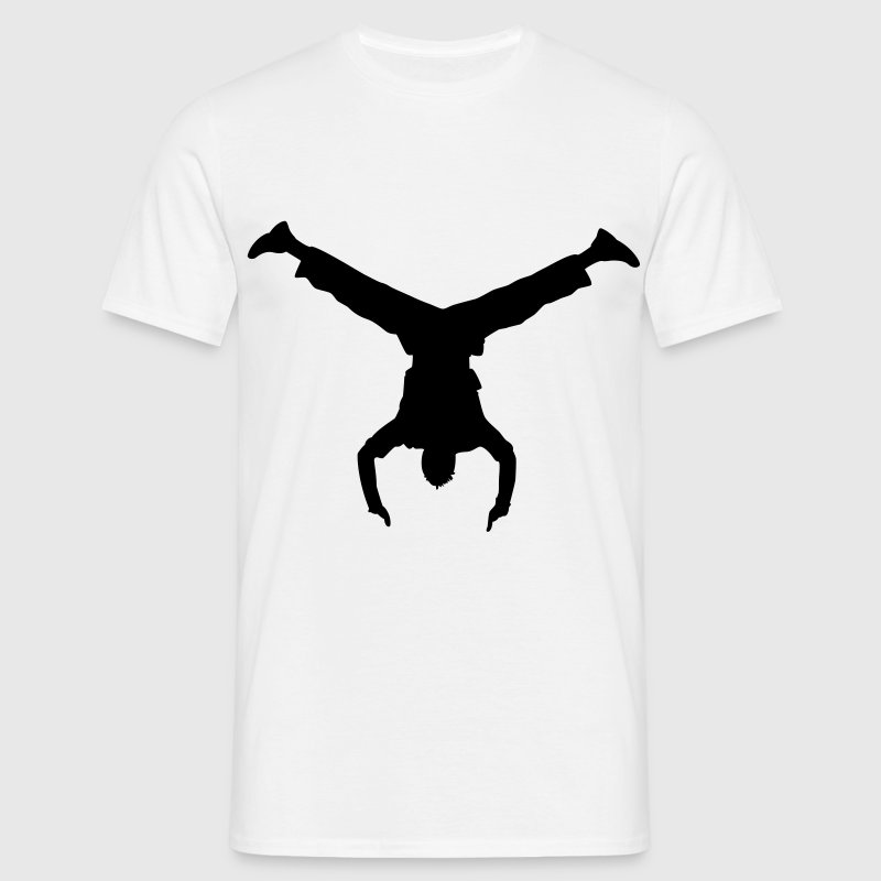 handstand breakdance - Men's T-Shirt