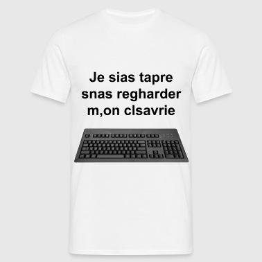 clavier - T-shirt Homme