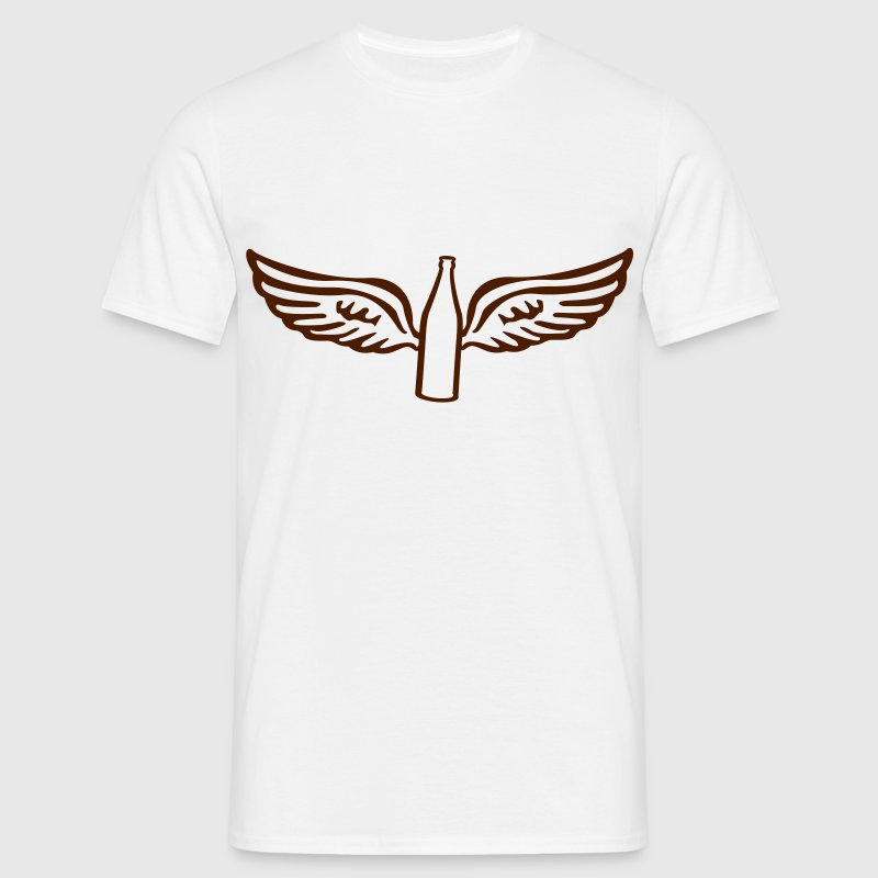 Beer Angel  - Men's T-Shirt