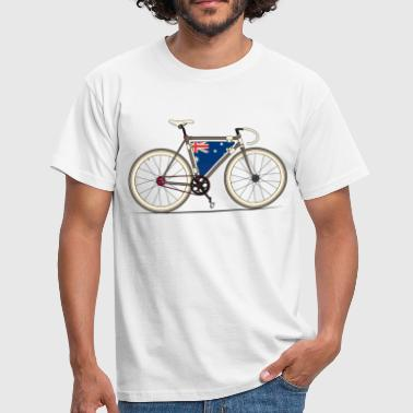 Australian Fixed Gear Bike - Men's T-Shirt