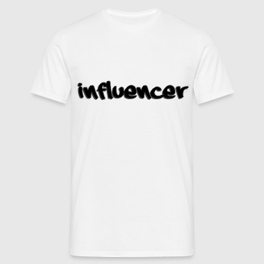 influencer desing - T-shirt herr