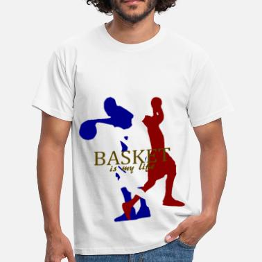 Basketball Is My Life basket is my life - Men's T-Shirt