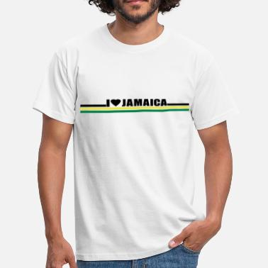 I Love Jamaica i love jamaica - Men's T-Shirt