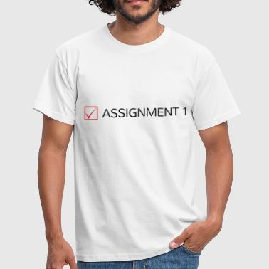 Assassin Assassination - Men's T-Shirt