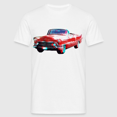 3D Cadillac - T-shirt Homme