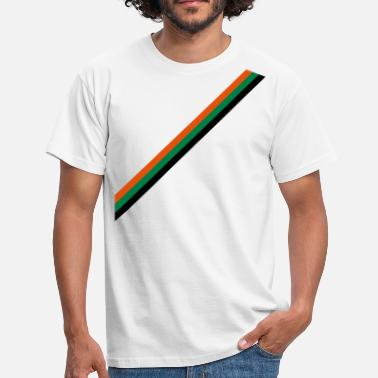 Striber strip - flag - Herre-T-shirt