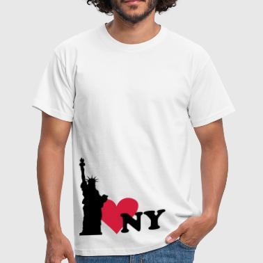 I love New York - NY - Männer T-Shirt