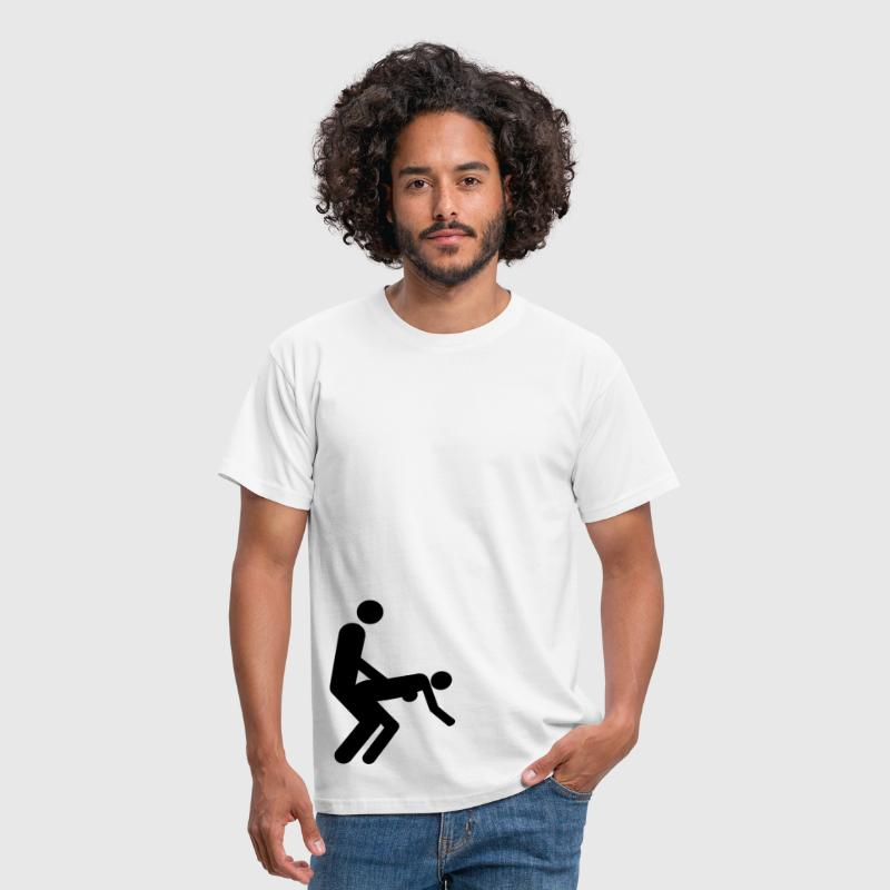 Sex - Dirty - Doggy style - Men's T-Shirt