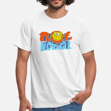 Mens' Shirt SpongeBob 'Not Normal' - Männer T-Shirt