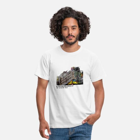 Gorilla T-Shirts - riot - bananaharvest - Men's T-Shirt white