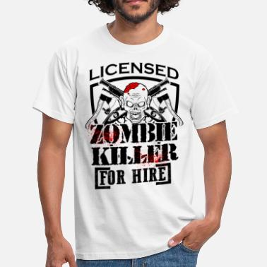 Killing Eve Zombie Killing Halloween Killer For Hire Axe Knife Light - Men's T-Shirt