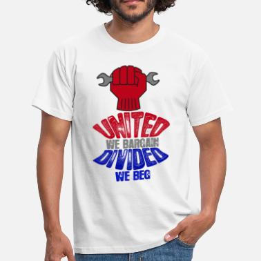 Social Worker Negociación colectiva Pro Labor Worker Worker Protest Light - Camiseta hombre