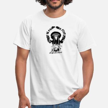 Indian Apache Fig Apache indian gift - Men's T-Shirt