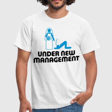I Love Under new management - Men's T-Shirt
