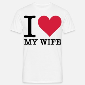 I Love My Wife Mannen Boxershorts Spreadshirt