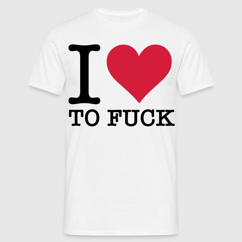 Ich liebe ficken! von Funny-Slogan-T-Shirts | Spreadshirt