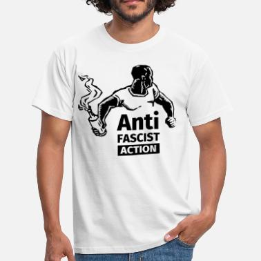 Fasciste Anti-Fascist Action - T-shirt Homme