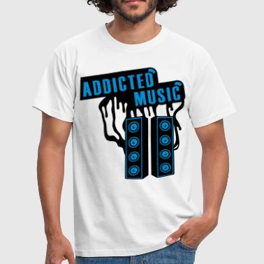 Trance Addict ADDICTED - Men's T-Shirt